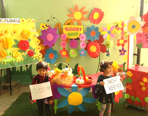 Dramatic Play Based On Flower Theme